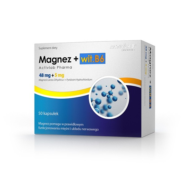 Magnez + wit. B6