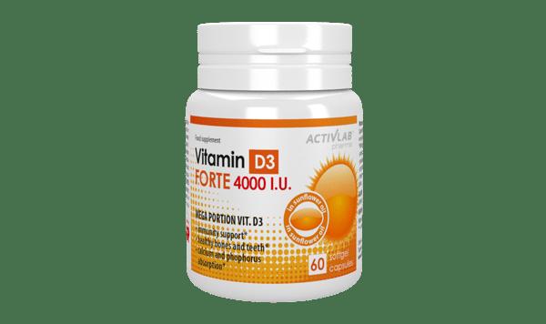 Vitamin D3 FORTE 4000 IU